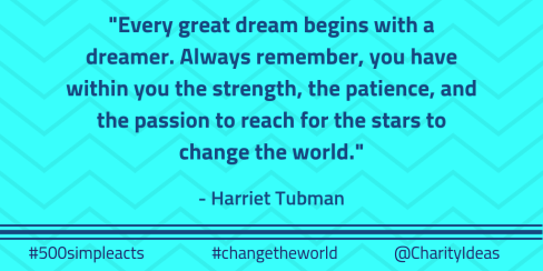 Copy of Copy of Copy of #changetheworld quotes Twitter Tubman